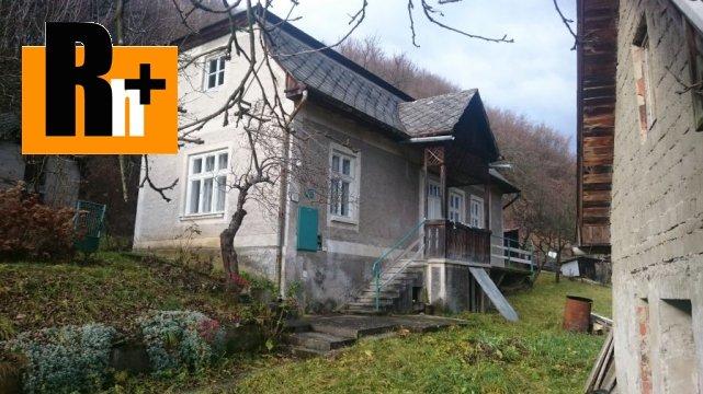 Foto Na predaj vidiecky dom Kľačno - 2 nehnuteľnosti za cenu jednej - rezervované