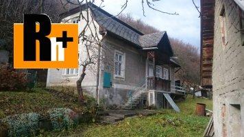 Na predaj vidiecky dom Kľačno - 2 nehnuteľnosti za cenu jednej - znížená cena