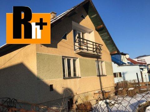 Foto Lietavská Svinná-Babkov na predaj rodinný dom - rezervované