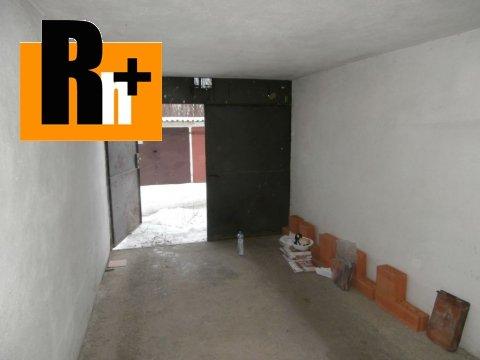Foto Na predaj garáž hromadná Košice-Západ - rezervované