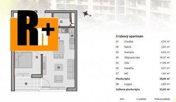 2 izbový byt na predaj Bratislava-Rača Malé Krasňany - s garážou