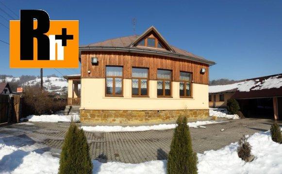 2. obrázok Lysá pod Makytou Dešná rodinný dom na predaj - exkluzívne v Rh+