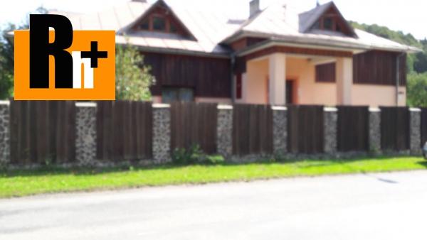 3. obrázok Lysá pod Makytou Dešná rodinný dom na predaj - exkluzívne v Rh+