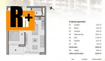 Bratislava-Rača Malé Krasňany na predaj 2 izbový byt - exkluzívne v Rh+
