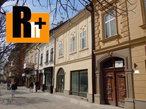 Foto Na predaj 3 izbový byt Košice-Staré Mesto Hlavná - mezonet
