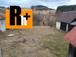 Osádka na predaj pozemok pre bývanie - TOP ponuka