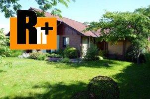 Na predaj rodinný dom Šaľa s priestormi na podnikanie či sídlo firmy - TOP ponuka