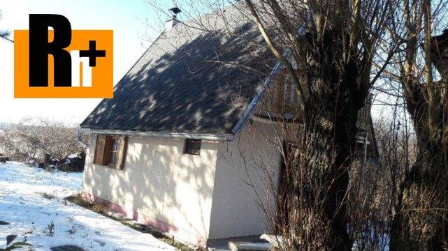 Foto Na predaj chata Malé Leváre Štrkovisko - TOP ponuka