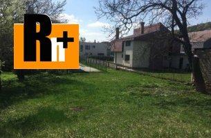 Na predaj pozemok pre bývanie Košice-Sever Čermeľ