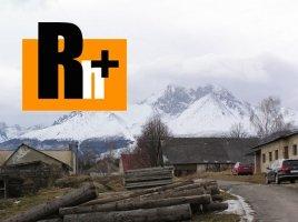 Na predaj zastavané plochy a nádvoria Stráne pod Tatrami