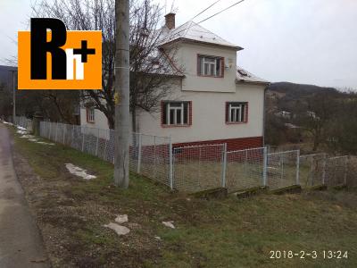 Bzince pod Javorinou na predaj rodinný dom - exkluzívne v Rh+