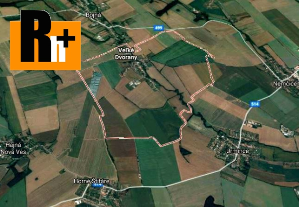 3. obrázok Veľké Dvorany na predaj poľnohospodárska pôda - 42000m2
