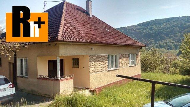 Foto Na predaj Drietoma Horný koniec vidiecky dom - rezervované