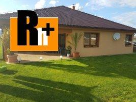 Košeca na predaj rodinný dom - novostavba