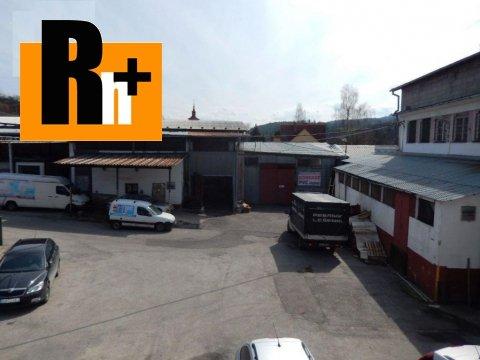 2. obrázok Na predaj Púchov Záriečie priemyselný areál