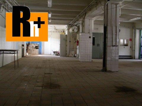 4. obrázok Na predaj Púchov Záriečie priemyselný areál
