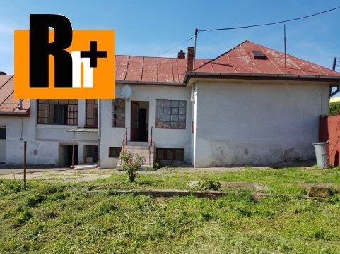 Foto Na predaj Košice-Košická Nová Ves Svätého Ladislava rodinný dom - znížená cena