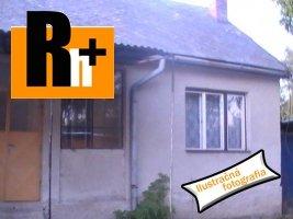Nitra širšie centrum rodinný dom na predaj - TOP ponuka