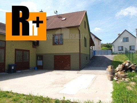 Foto Melčice-Lieskové Zemianske Lieskové rodinný dom na predaj - rezervované
