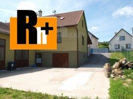Melčice-Lieskové Zemianske Lieskové rodinný dom na predaj