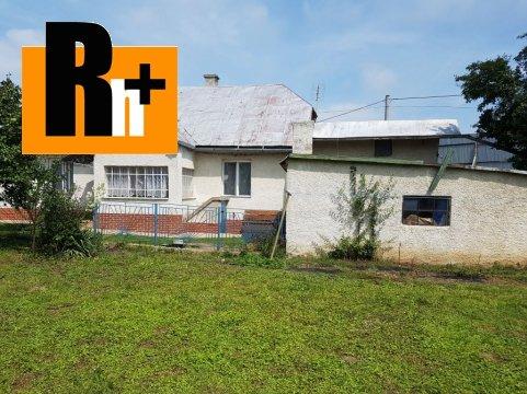 Foto Rodinný dom Čaňa - na predaj - TOP ponuka