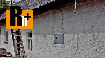 Na predaj Púchov Nosice vidiecky dom - znížená cena o 2000€