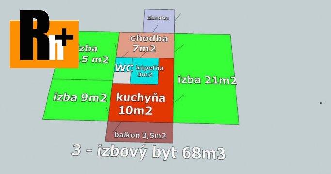 Foto 3 izbový byt na predaj Galanta Železničiarska