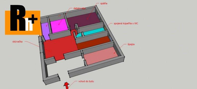 Foto 3 izbový byt Martin na predaj - exkluzívne v Rh+