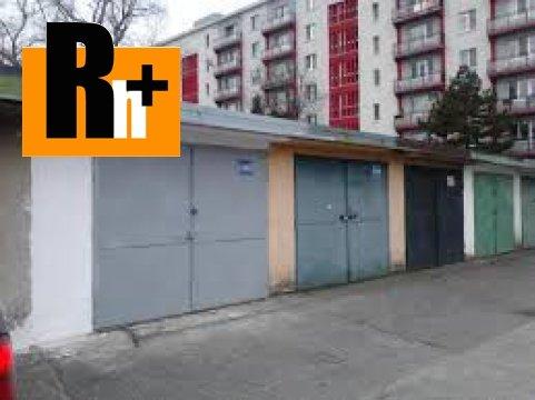 Foto Bratislava-Ružinov Haburská na predaj garáž jednotlivá - TOP ponuka