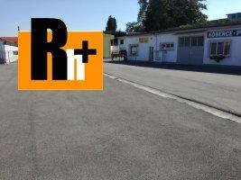 Na prenájom Prievidza Necpalská garáž jednotlivá - TOP ponuka