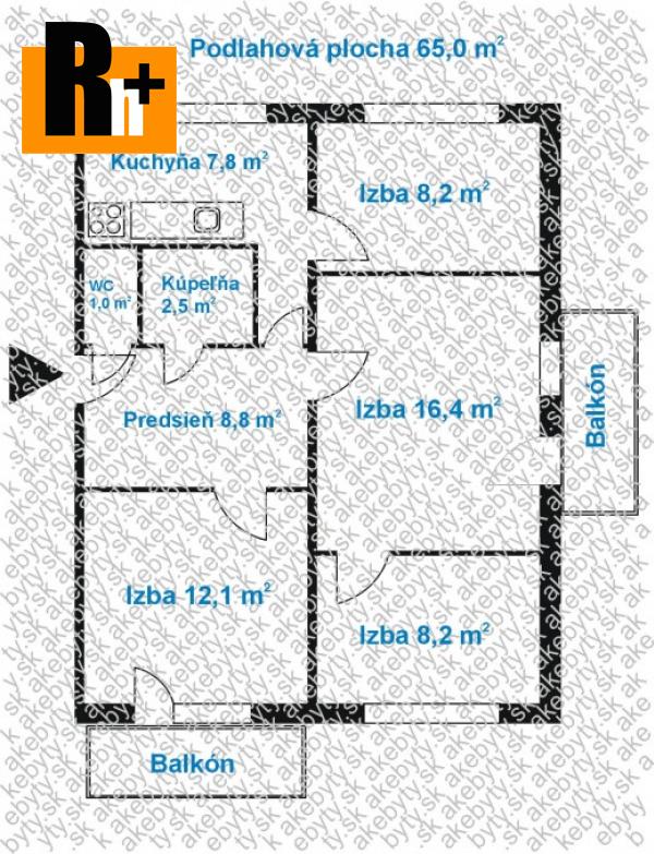 Foto Na predaj Košice-Západ . 4 izbový byt