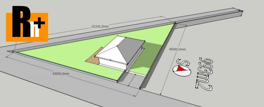Foto Teplička nad Váhom 993m2 pozemok pre bývanie na predaj - exkluzívne v Rh+