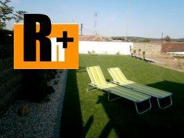 Na predaj rodinný dom Hlohovec SNP - exkluzívne v Rh+