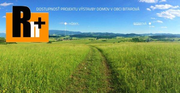 Foto Pozemok pre bývanie Bitarová 850m2 na predaj - TOP ponuka