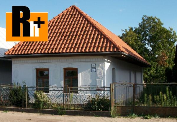Foto Na predaj rodinný dom Borša . - čiastočne prerobený