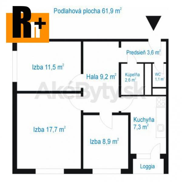 Foto Na predaj Bratislava-Petržalka Hrobákova 3 izbový byt - TOP ponuka