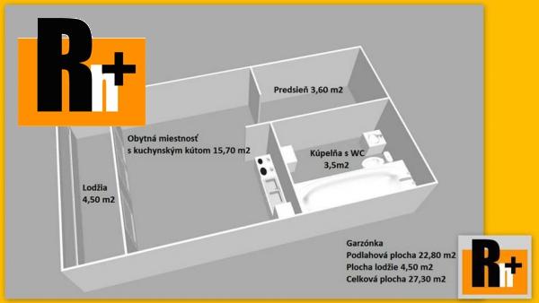 Foto Bratislava-Petržalka Blagoevova na predaj garzónka - TOP ponuka