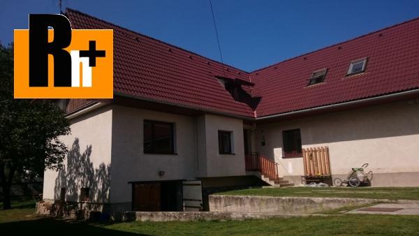 Foto Družstevná pri Hornáde Malá Vieska na predaj rodinný dom - s terasou