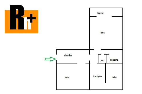 Foto Na predaj 3 izbový byt Bratislava-Ružinov Martinčekova 2,5 izbový byt - TOP ponuka