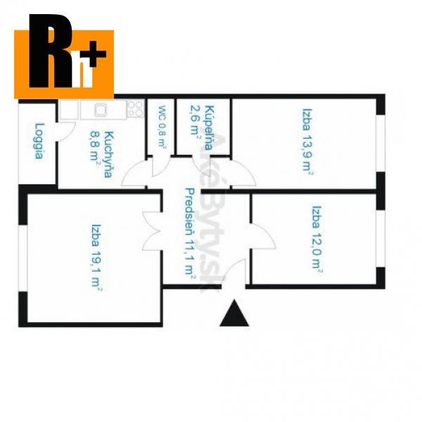 Foto Na predaj Bratislava-Petržalka Holíčska, ticho orientovaný, priestranný 3 izbový byt - TOP ponuka