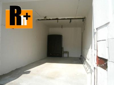 Na predaj Hlohovec garáž jednotlivá - TOP ponuka