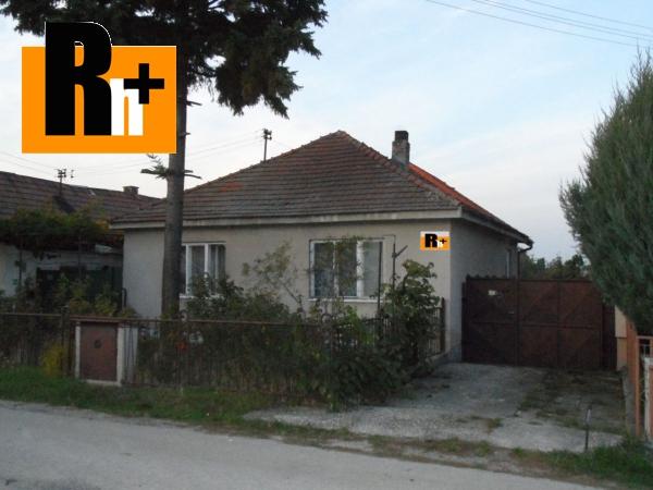 Foto Rodinný dom Dolné Orešany na predaj - rezervované
