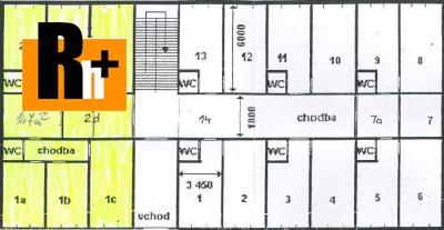 Kancelárie na predaj Žilina širšie centrum - ihneď k dispozícii