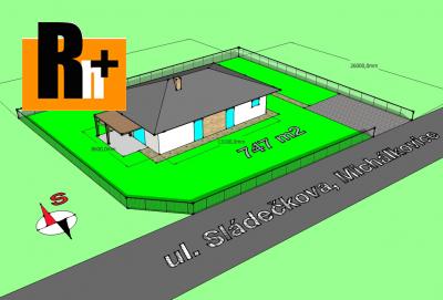 Na prodej pozemek pro bydlení Ostrava Michálkovice Sládečkova - exkluzívně v Rh+