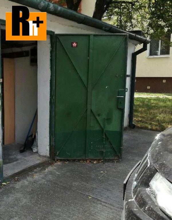 Foto Na predaj garáž jednotlivá Bratislava-Ružinov Sklenárová - TOP ponuka
