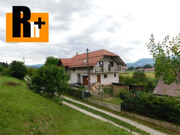 Foto Rodinný dom Teplička nad Váhom + Videoobhliadka na predaj - exkluzívne v Rh+