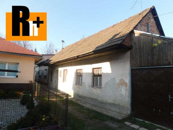 Foto Rodinný dom na predaj Varín Centrum obce - exkluzívne v Rh+