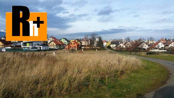 Foto Pozemok pre bývanie Poprad Veľký Slavkov na predaj
