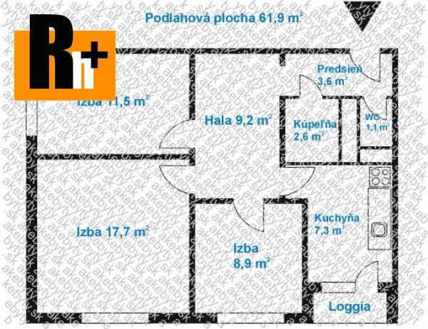 Foto Na predaj Bratislava-Petržalka Bradáčová 3 izbový byt - TOP ponuka