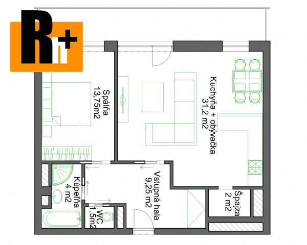 Foto 2 izbový byt Bratislava-Petržalka Námestie Hraničiarov na predaj - rezervované